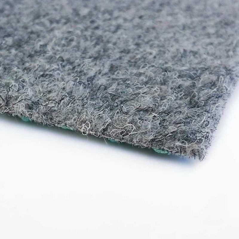 livingfloor® Kunstrasen Vliesrasen mit Noppen Grau in 1,50 m Breite, Länge variabel Meterware Bild 2