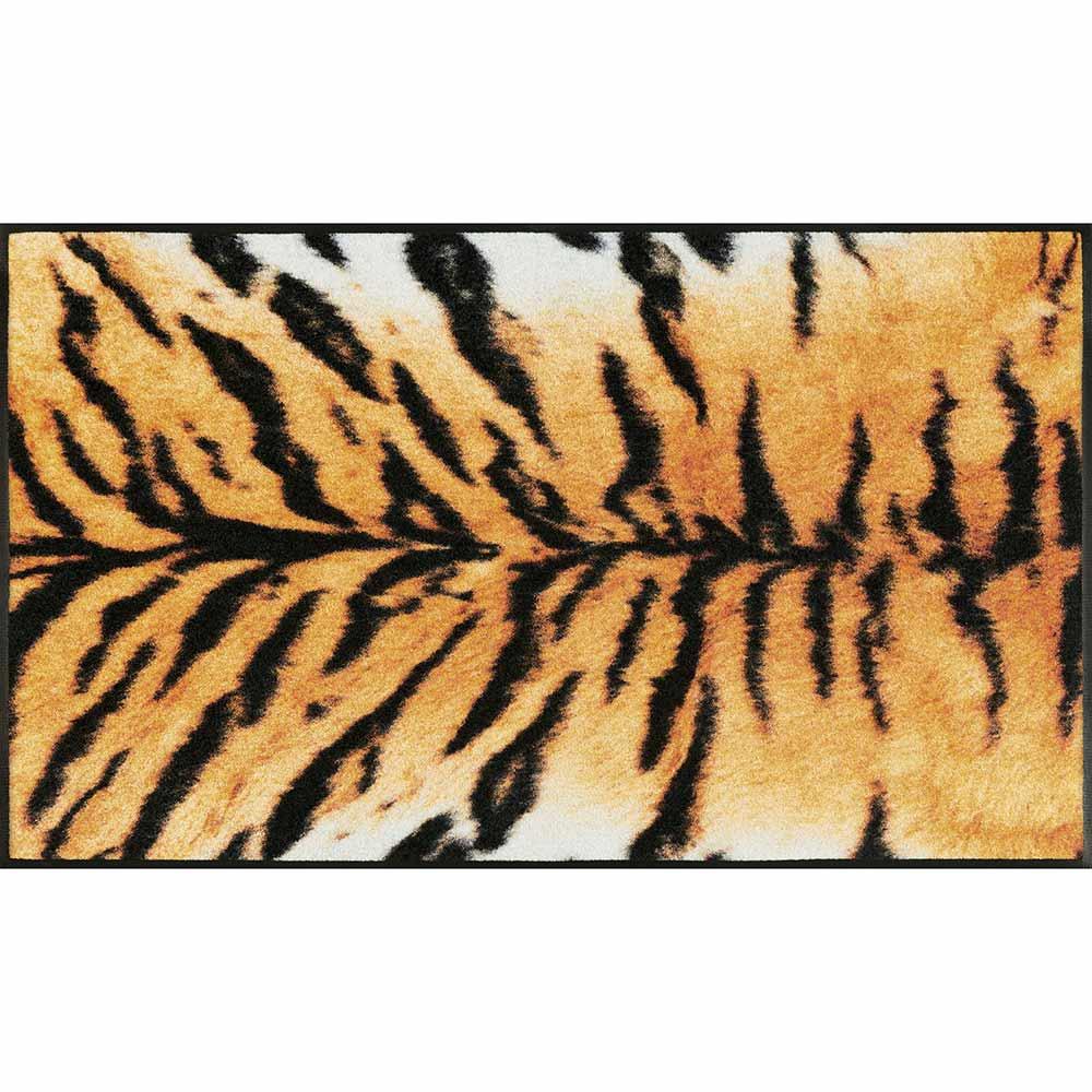 fussmatte wash dry design tigro 75x120 cm fu matten waschbare t rvorleger. Black Bedroom Furniture Sets. Home Design Ideas