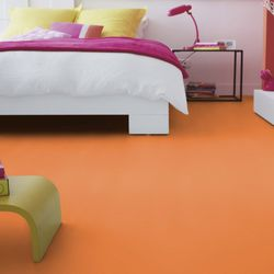 Reststück PVC Tarkett Exclusive 260 Dj Medium Orange | 1,00x1,50 m