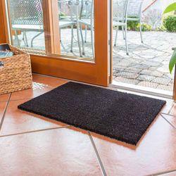 Reststück Kokosmatte Coco 16 mm Schwarz | 0,26x0,59 m