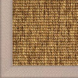 Outdoor Teppich Sylt Des. 806 Ocker 060 mit Bordüre | Wunschmaß