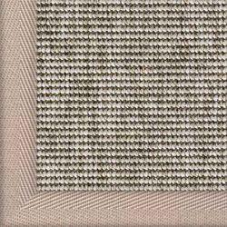 Outdoor Teppich Sylt Des. 806 Silber 040 mit Bordüre | Wunschmaß