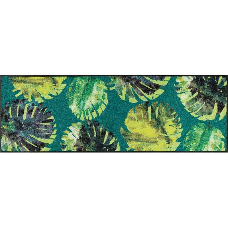 Fussmatte wash+dry Design Philo Leaves 60x180 cm