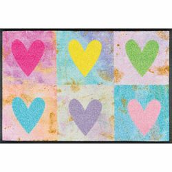 Fussmatte wash+dry Design Candy Hearts 50x75 cm