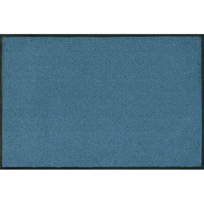 Fussmatte wash+dry Trend-Colour Steel Blue | Wunschmass