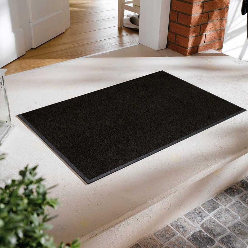 Fussmatte wash and dry Original Raven Black Designbeispiel