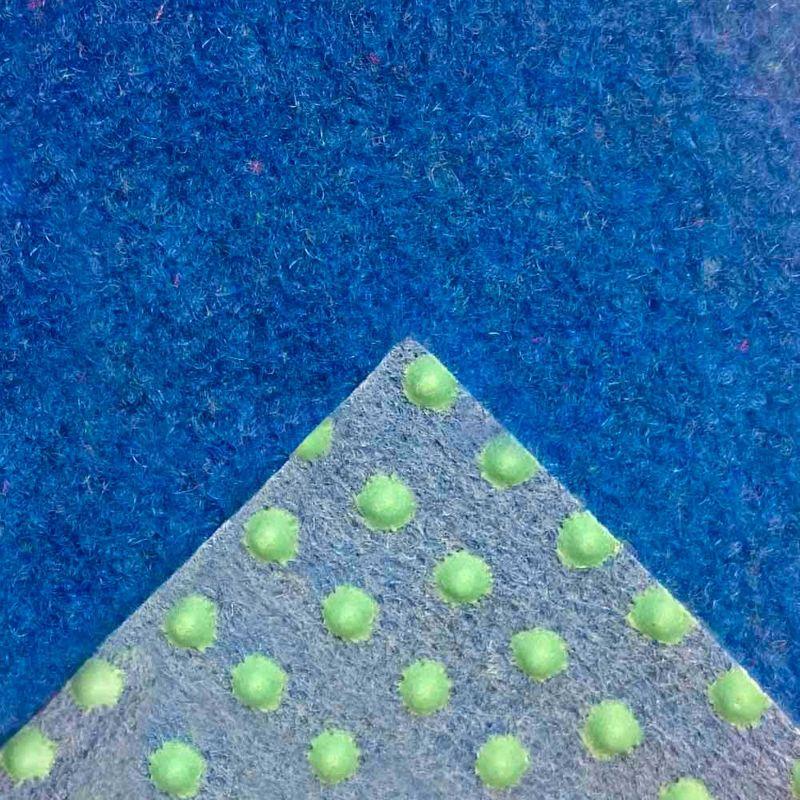 Kunstrasen Rasenteppich Patio Blau Detail 4