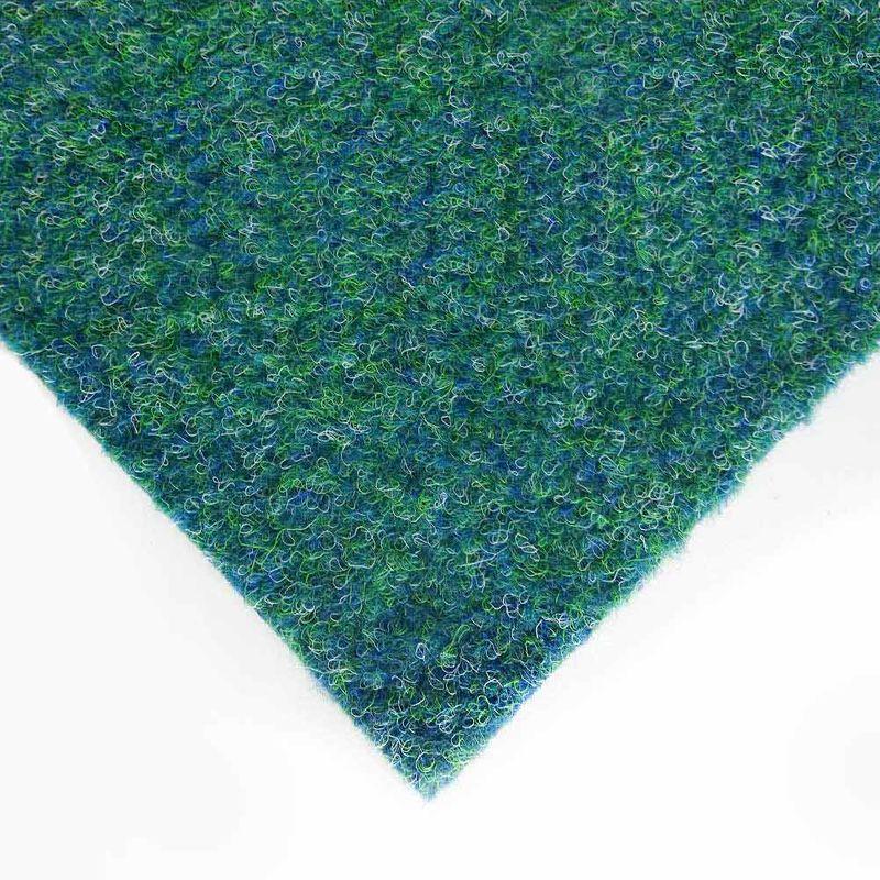 Kunstrasen Rasenteppich Patio Blau-Grün 4,00 m