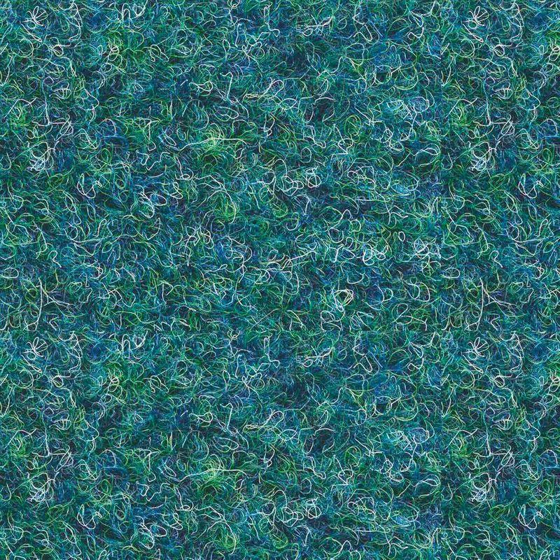 Kunstrasen Rasenteppich Patio Blau-Grün Detail 4