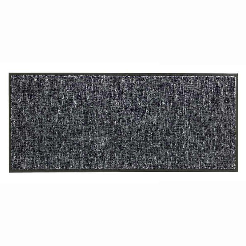Schöner Wohnen Fussmatte Miami Gitter grau 040 | 67x150 cm