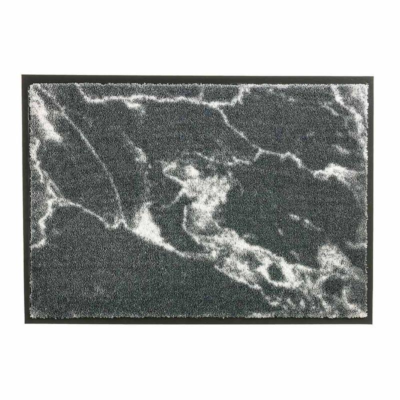 Schöner Wohnen Fussmatte Miami Marmor grau 040 | 67x100 cm