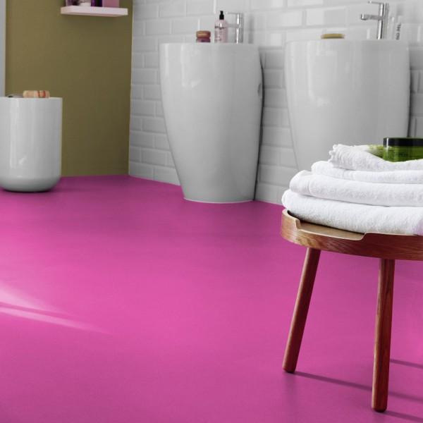 Reststück PVC Tarkett Exclusive 200 FabricGeranium | 0,94x2,00 m