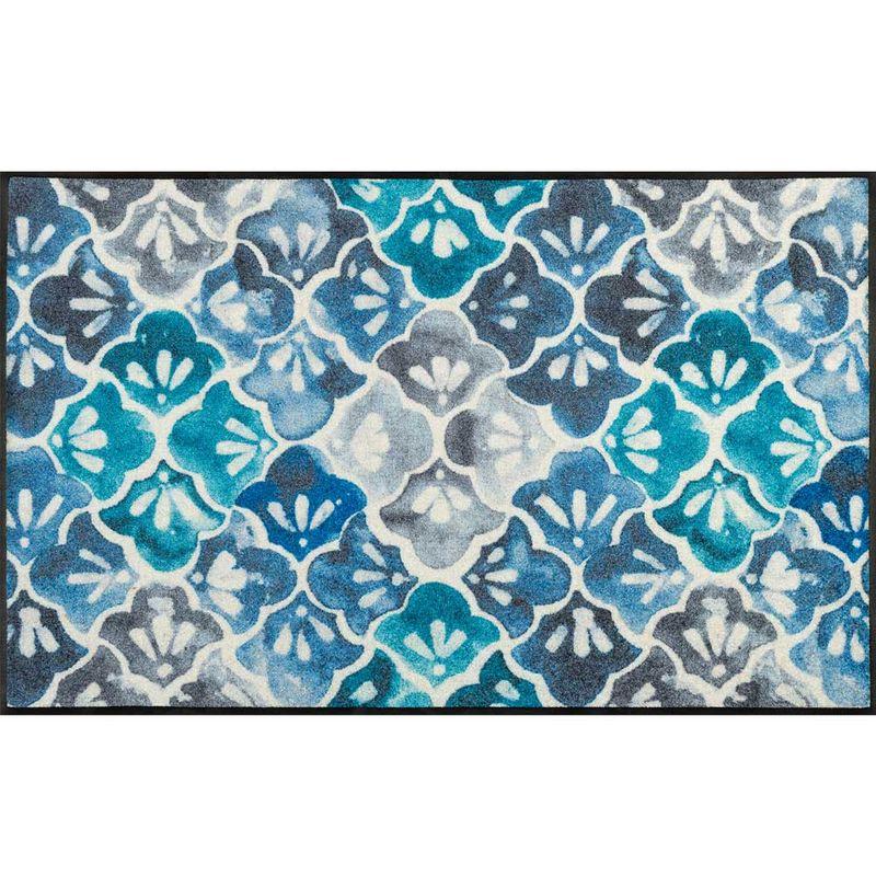 Fussmatte wash+dry Design Blue Ground 75x120 cm