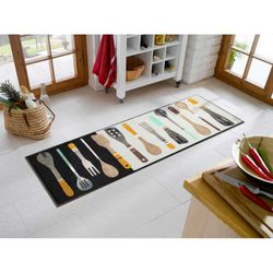 Fussmatte wash+dry Design Cooking Tools 60x180 cm