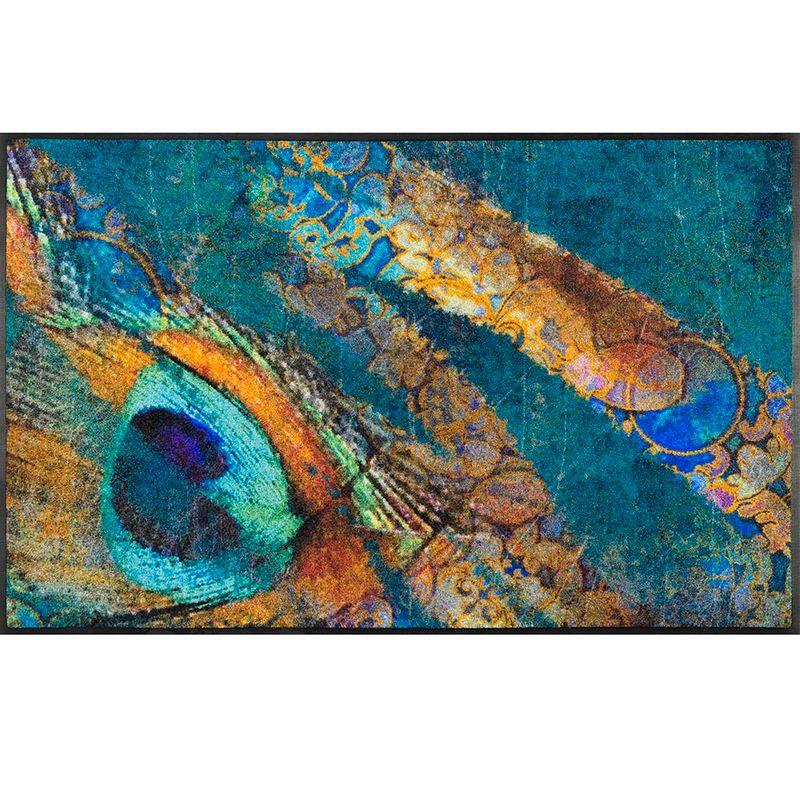 Fussmatte wash+dry Design Exotic Pavo 75x120 cm