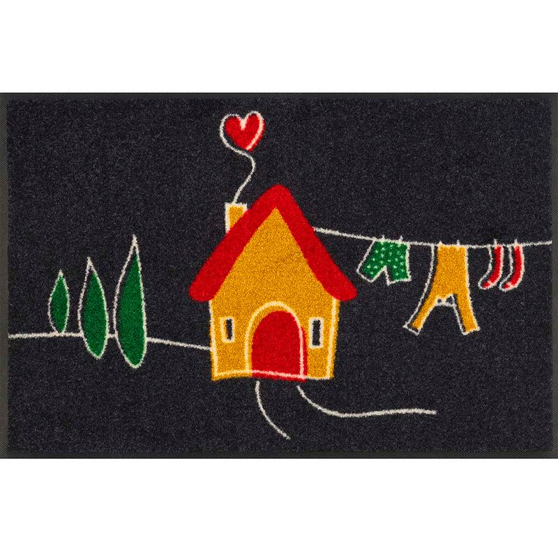 Fussmatte wash and dry Design My Tiny Home 50x75 cm