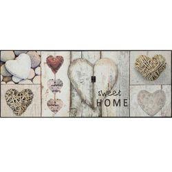 Fussmatte wash+dry Design Vintage Hearts 75x190 cm