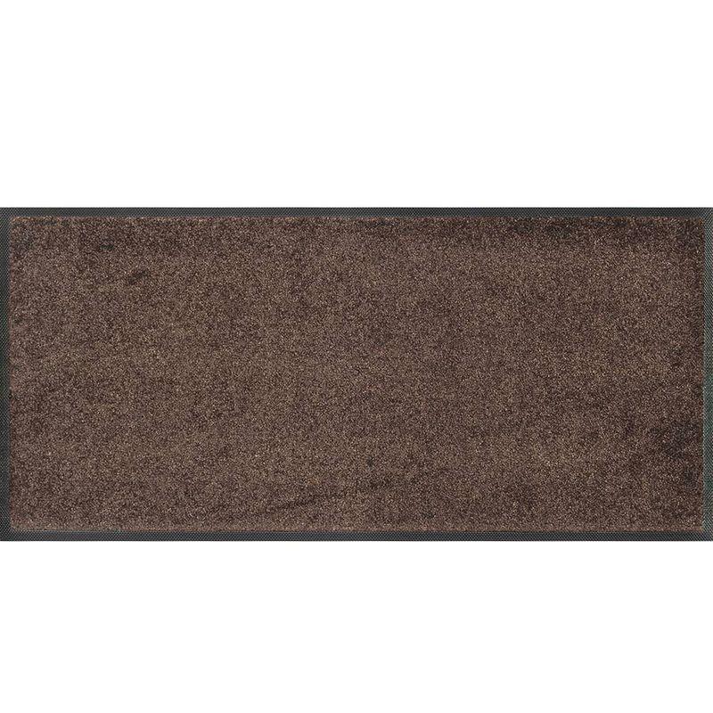 Fussmatte wash and dry Trend-Colour Brown 35x75 cm