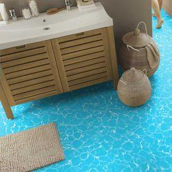 Reststück PVC Tarkett Essentials 260 Swimming Pool | 0,76x0,59 m Bild 2