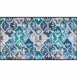 Fussmatte wash+dry Design Blue Ground 60x140 cm