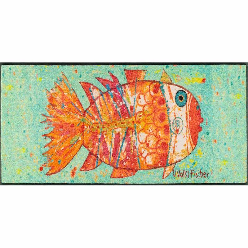 Fussmatte wash+dry Design Funky Fish 60x180 cm