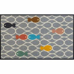 Fussmatte wash+dry Fishpond 50x75 cm