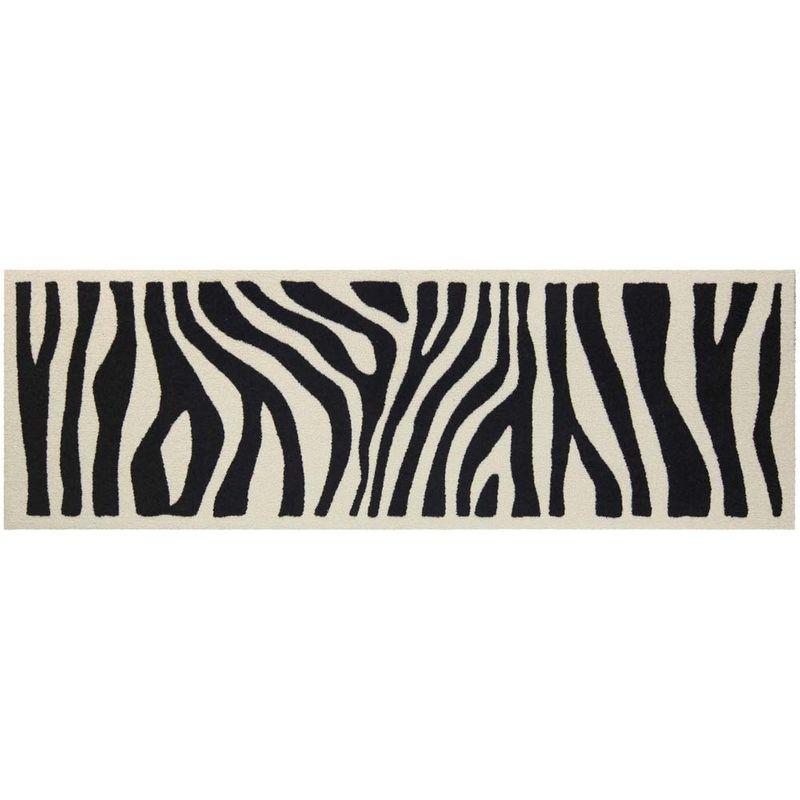 Fussmatte Salonlöwe Zebra Look 60x180 cm