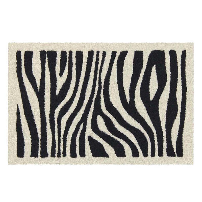 Fussmatte Salonlöwe Zebra Look 50x75 cm Bild 1
