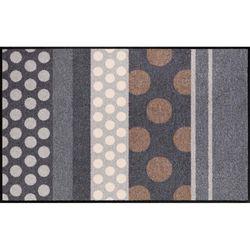 Fussmatte Salonlöwe Glamour Dots Grau 75x120 cm