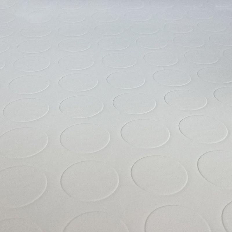 PVC Bodenbelag Tarkett Retro Noppe Weiß 2m Bild 3