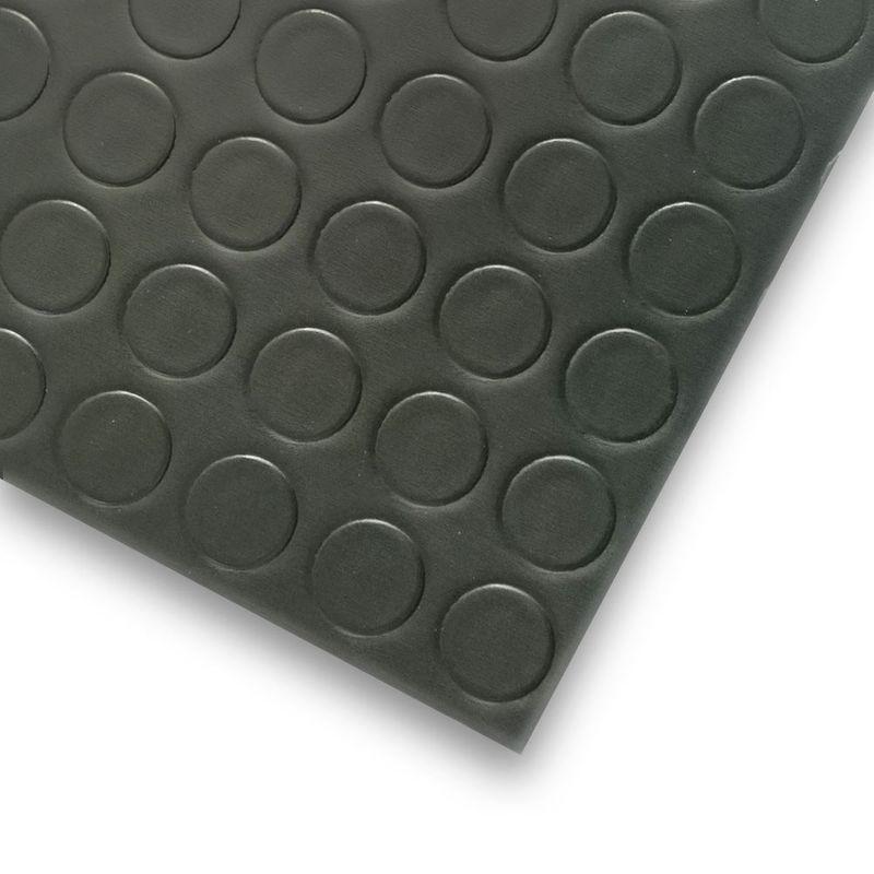 PVC Bodenbelag Tarkett Retro Noppe Schwarz 2m Bild 3