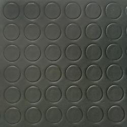PVC Bodenbelag Tarkett Retro Noppe Schwarz 2m