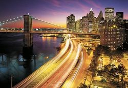 Komar Fototapete NYC Lights 368 x 254 cm #8-516