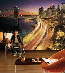 Komar Fototapete NYC Lights 368 x 254 cm #8-516 Bild 2