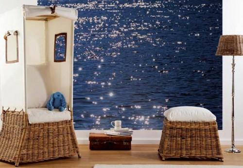 Komar Fototapete Stelle di Mare 254 x 184 cm Designbeispiel
