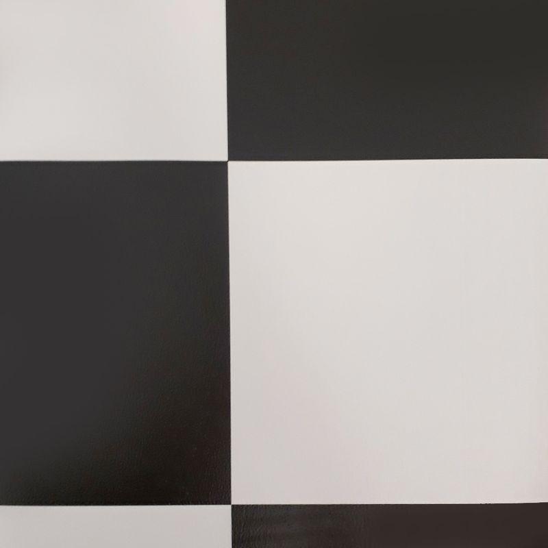 PVC Boden Tarkett Comet Schachbrett schwarz-weiss 2m Bild 3