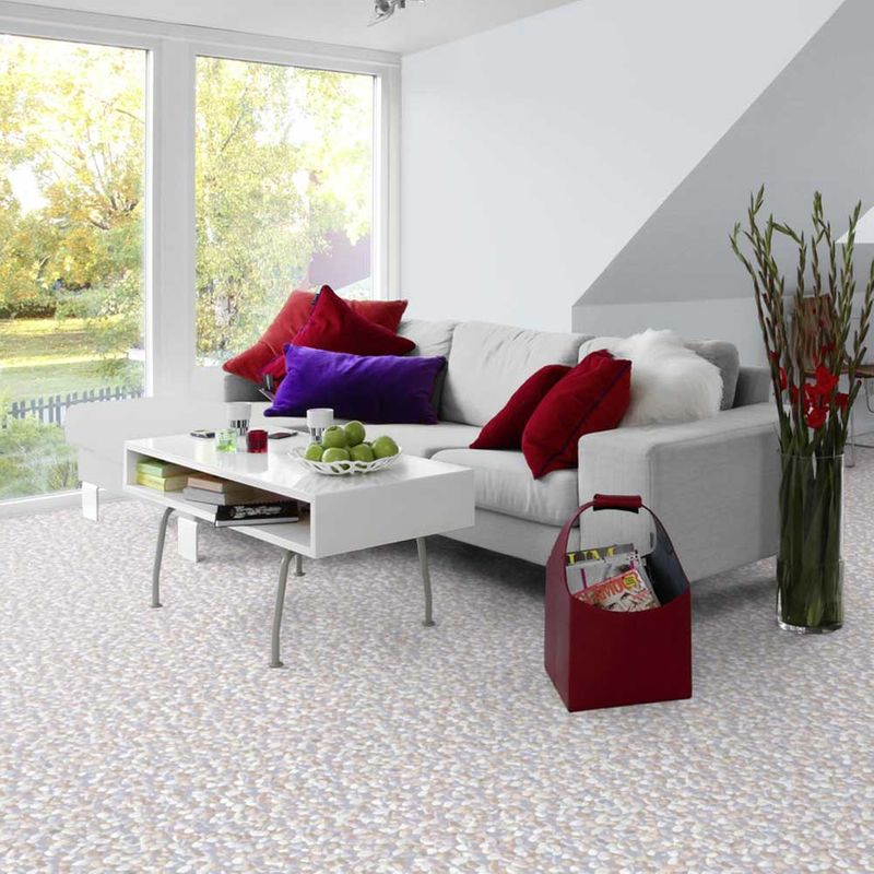 PVC Boden Tarkett Design 200 Kiesel Steine Bild 2