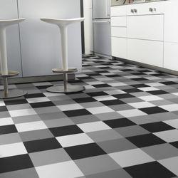 PVC Bodenbelag Tarkett Design 260 Hekto Grey Black 4m Bild 5