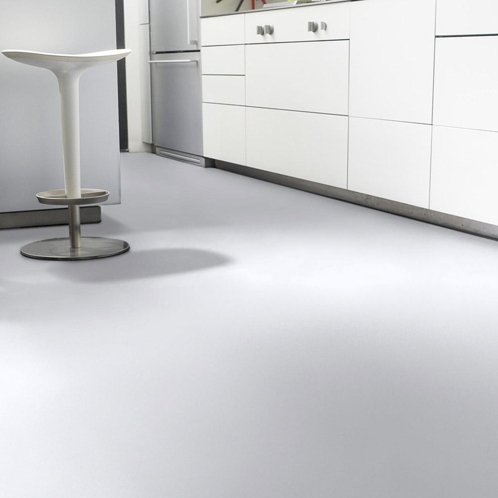 PVC Bodenbelag Tarkett Design 260 Dj White 4m