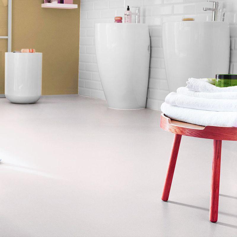 PVC Bodenbelag Tarkett Design 260 Dj White 4m Bild 1