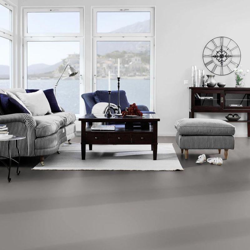 PVC Bodenbelag Tarkett Design 260 Dj Grey 4m Bild 4