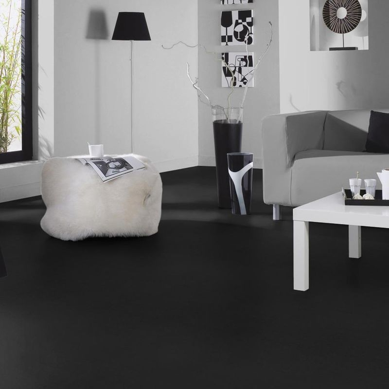 PVC Bodenbelag Tarkett Design 260 Dj Black 2m Bild 3