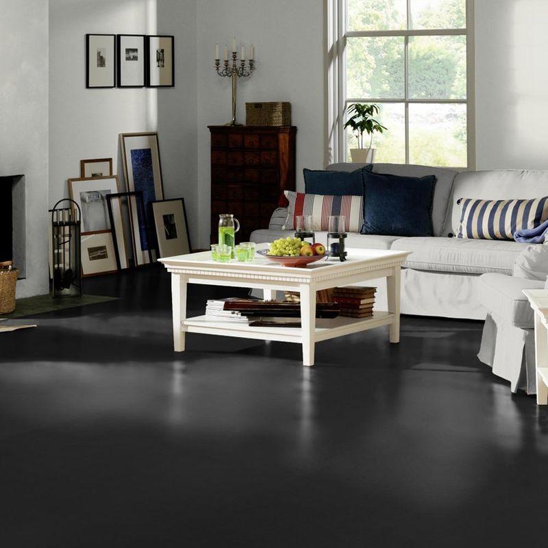 PVC Bodenbelag Tarkett Design 260 Dj Black 4m Bild 6