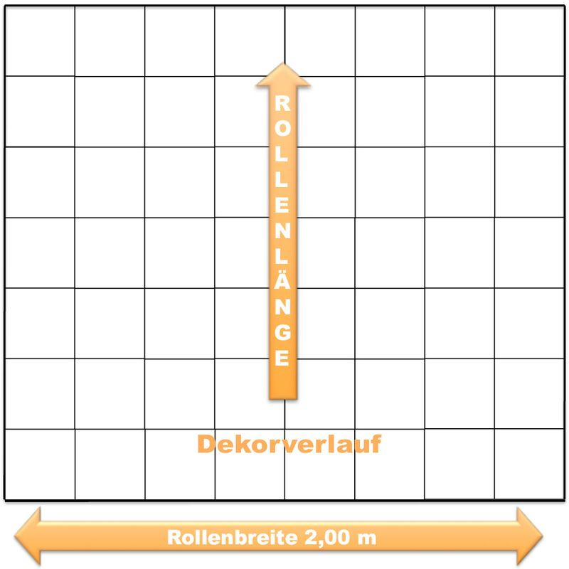 PVC Boden Tarkett Authentic 72 Schachbrett Schwarz/Weiss 2m Bild 6