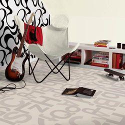PVC Bodenbelag Tarkett Design 260 Alphabet Grey 3m Bild 2