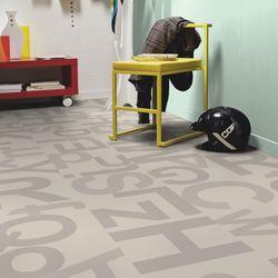 PVC Bodenbelag Tarkett Design 260 Alphabet Grey 3m Bild 3