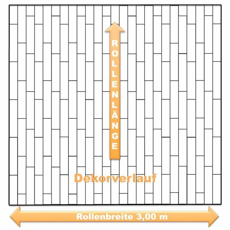 PVC Boden Gerflor Primetex Concept 1193 Playa White | 3m Bild 3