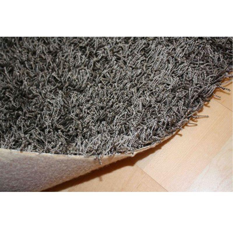 Hochflor Auslegware Shaggy Capri Titan-Grau 0780 4m