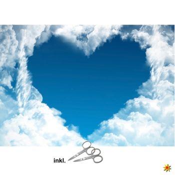 """Herzlaken mit Wolken Motiv """"Wolke 7"""""""