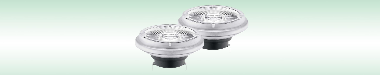 Halogenlampen Aluspiegel QRB111 12 Volt
